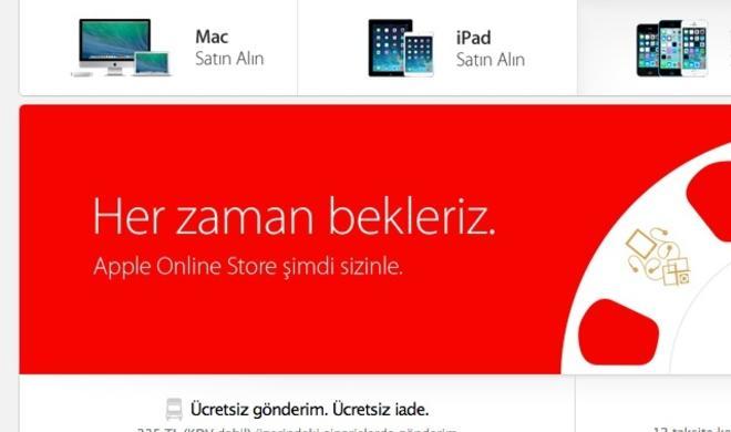 Apple Online Store in der Türkei eröffnet