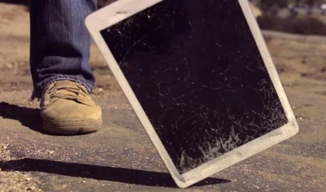 Netzfundstück: iPad Air trifft auf sinnlose Gewalt