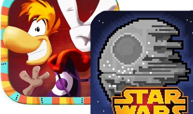 """Neu im App Store: """"Rayman Fiesta Run"""" und """"Star Wars: Tiny Death Star"""""""