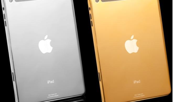 Handgemacht: Das vergoldete iPad Air