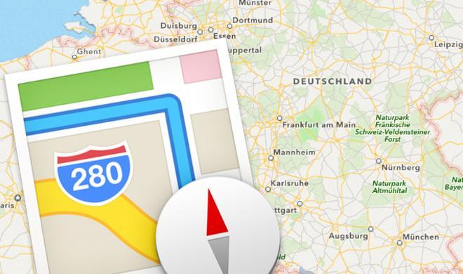 Karten-Ausschnitte mit Karten.app als PDF exportieren