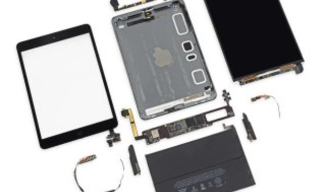 iPad mini Retina: Teardown enthüllt A7-Chip, LG Display und größeren Akku