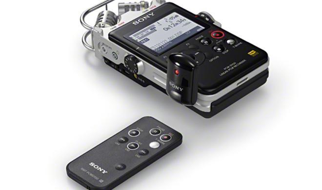 Sony PCM-D100 - Hochauflösender Fieldrecorder