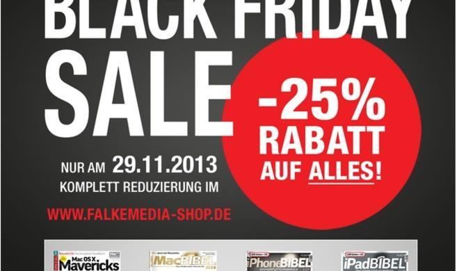Black Friday Rabattschlacht 2013: Die besten Schnäppchentipps für Mac, iOS und Zubehör