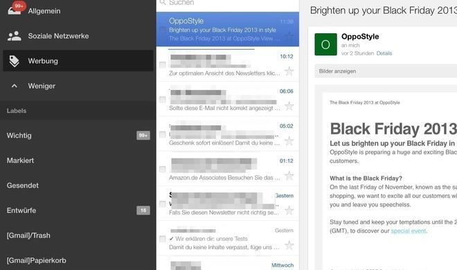 Gmail: Google will alle Bilder auf eigenen Servern zwischenspeichern