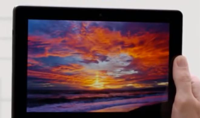 Werbung für das Kindle Fire HDX: Amazon kopiert Jony Ive