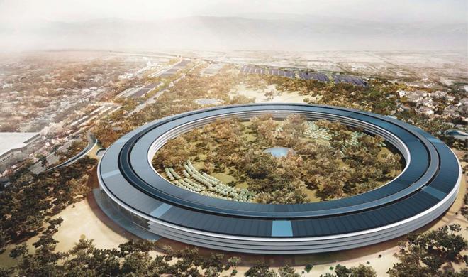 Die große Apple-Campus-2-Baustelle: Video dokumentiert Abrissarbeiten