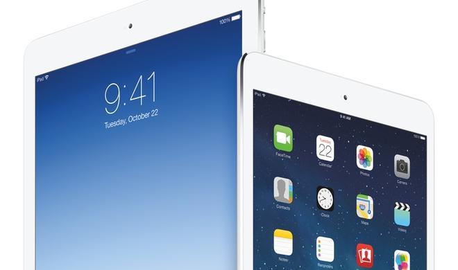 Produktion des neuen iPad Air mit Touch ID und besserer Kamera läuft an