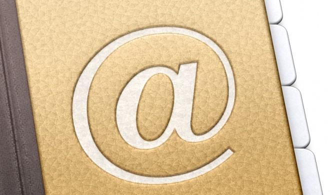Kontaktkarten: Nur bestimmte Informationen freigeben