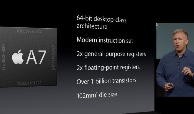 Apples A7-Chip: Weckruf für die gesamte Smartphone-Branche