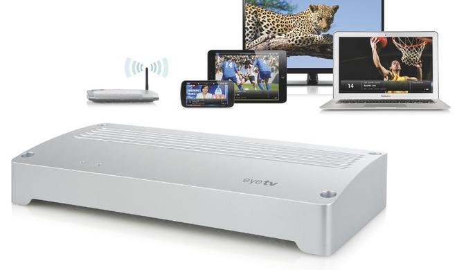 EyeTV Netstream 4Sat: NeuerNetzwerktuner mitHardware-Transcoding und Unterstützung für den SAT>IP-Standard