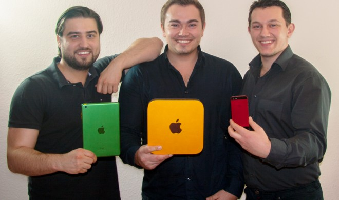 """Made in Germany: DyeTec verwandelt Apple-Produkte """"von der Stange"""" in Einzelstücke"""