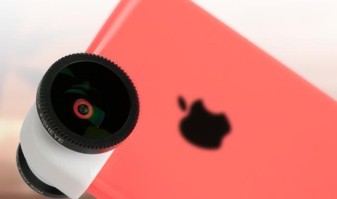 Olloclip präsentiert bunte Objektiv-Aufsätze für das iPhone 5c