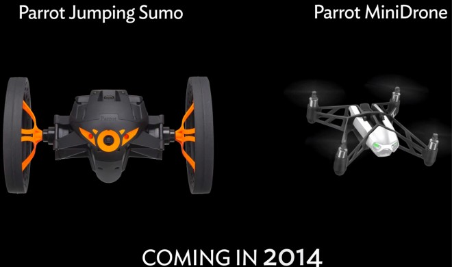 """CES 2014: Parrot zeigt neue Bluetooth-Spielzeuge """"Sumo"""" und """"MiniDrone"""""""
