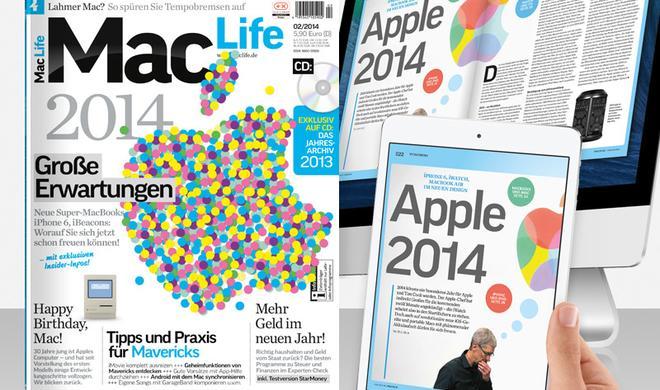 Apple 2014, Tipps & Praxis für Mavericks, 30 Jahre Mac u.v.m.