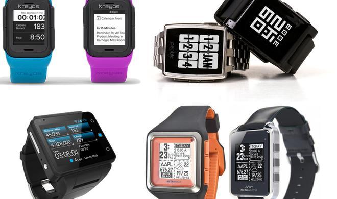 iWatch: Apples Konkurrenz im großen Smartwatch-Überblick 2014