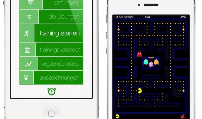 Kostenlos im App Store: Spieleklassiker PAC-MAN und Fitnessapp 7 Minute Workout Challenge