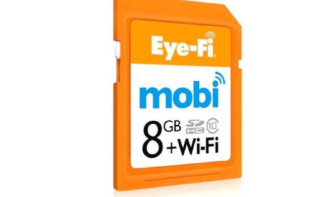 Von der Kamera direkt zum Mac: Eye-Fi kündigt OS-X-Version des Mobi Desktop Receivers an