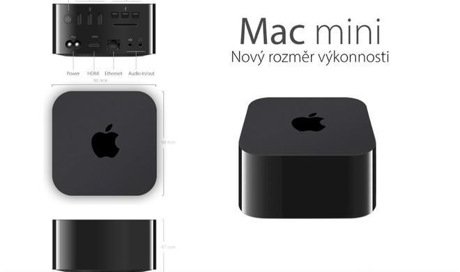 Konzeptstudie: Mac mini im Apple-TV-Design