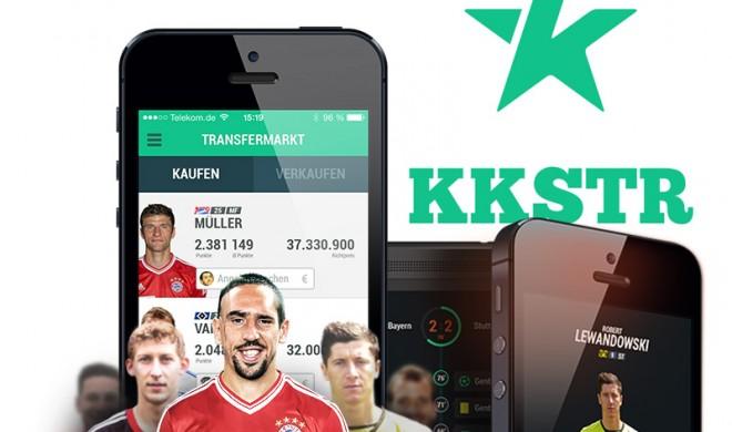 Pünktlich zum Rückrundenstart: Bundesliga Live Manager KKSTR im App Store veröffentlicht