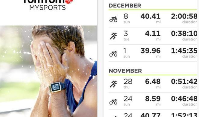TomTom MySports: Kostenlose iOS-App ergänzt Fitness-Hardware