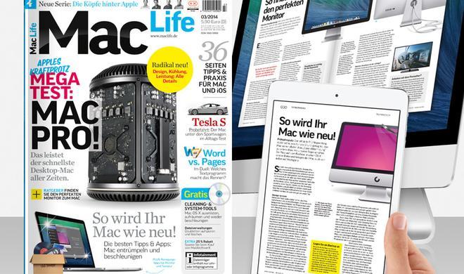 Mega Test: Mac Pro! Frühjahrsputz, Monitore im Check u.v.m.