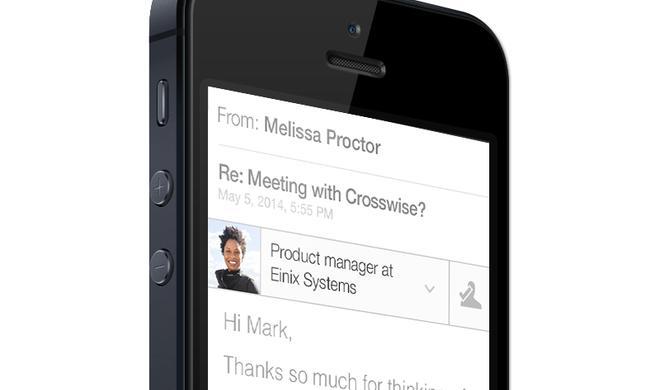 Erweiterung für Mail auf dem iPhone: LinkedIn stampft Intro ein