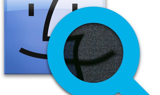 OS-X-Systemdateien in Spotlight suchen