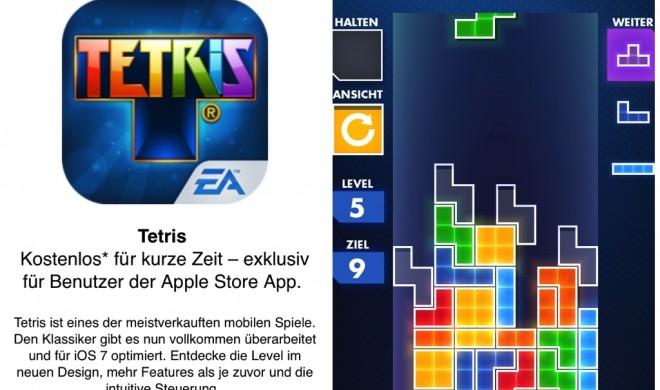 iOS-Tetris nun kostenlos über die Apple Store App