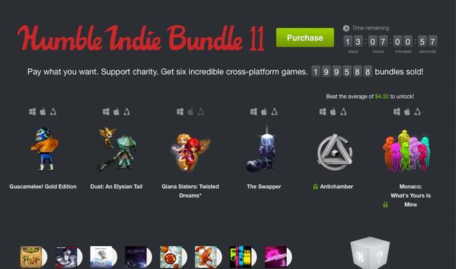 Humble Indie Bundle 11: Fünf tolle Mac-Spiele zum Jubelpreis