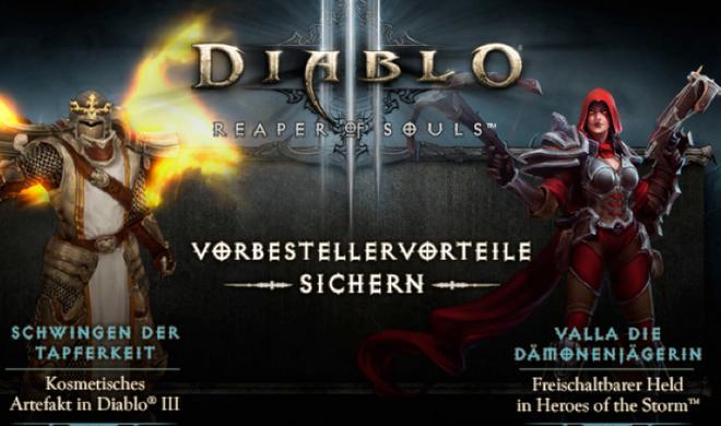 Diablo III: Reaper of Souls - Das sind die Vorteile für Vorbesteller