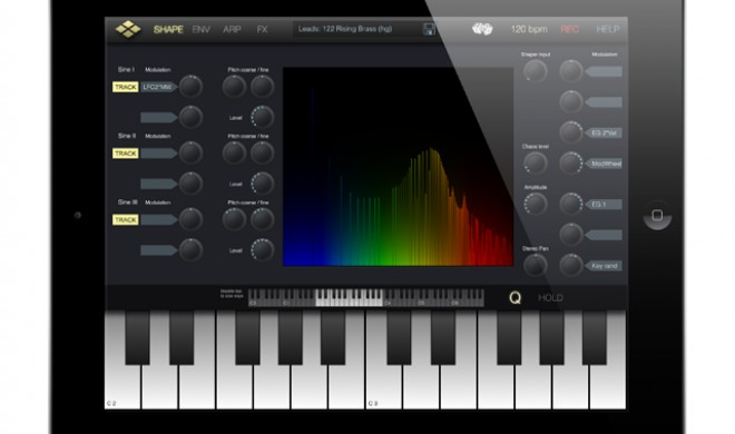 VirSyn Micro Tera - Waveshaping Synth für iPad