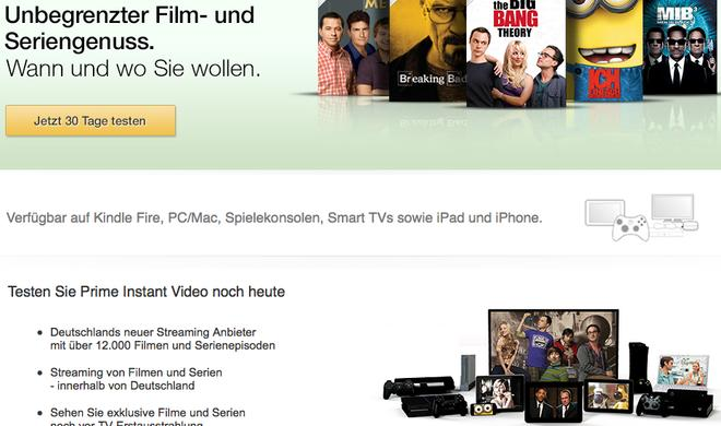 Amazon Prime bald auch mit Musik-Streaming?