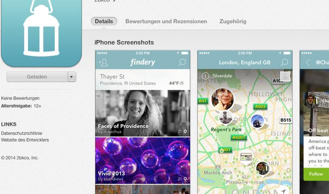 """Gratis-App """"Findery"""": Jeder Ort hat seine Geschichte"""
