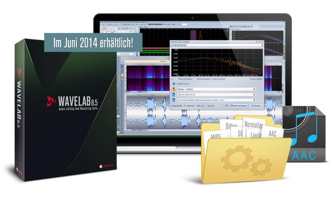 Musikmesse 2014: Steinberg kündigt Audioeditor WaveLab 8.5 an