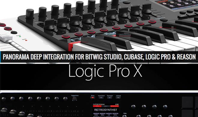 Musikmesse 2014: Nektar Panorama spielt mit Logic Pro X