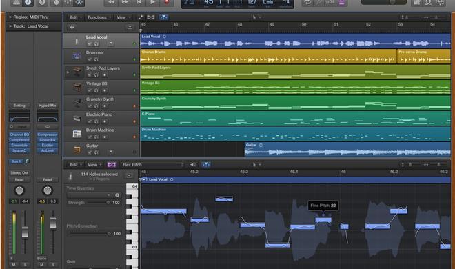 Apple aktualisiert Logic Pro X mit mehr als 300 Änderungen