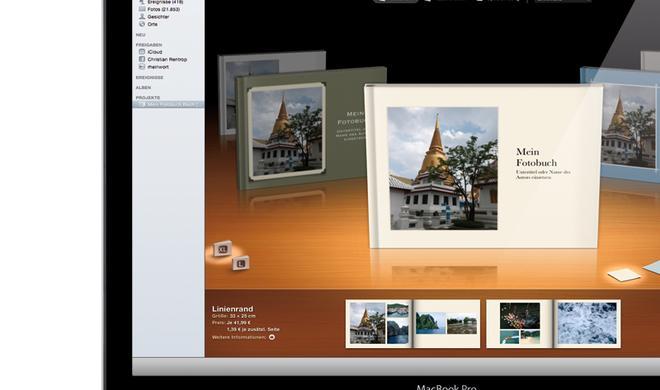 Fotobücher mit iPhoto: Anbieter im Vergleich