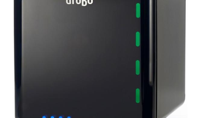 Drobo 4 Bay Gen3:Direct-Attached-Storage-Lösung mit verbesserter Time-Machine-Unterstützung