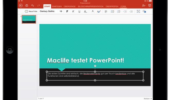 Test: Microsoft Office für das iPad