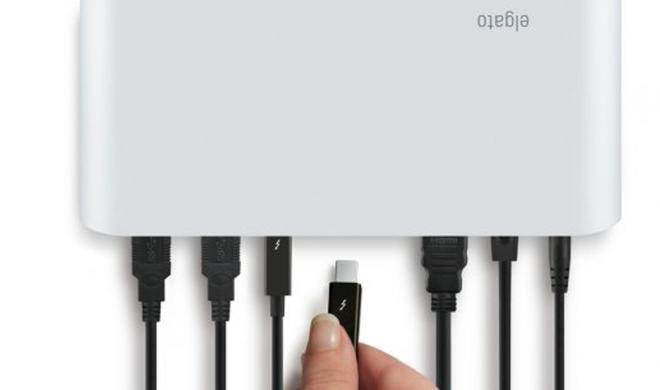 Elgato Thunderbolt Dock: Ein Kabel für Bildschirm, Geräte, Netzwerk und Audio