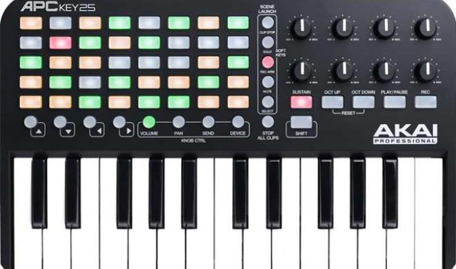 Akai APC Key 25 - Keyboard und Midi-Controller