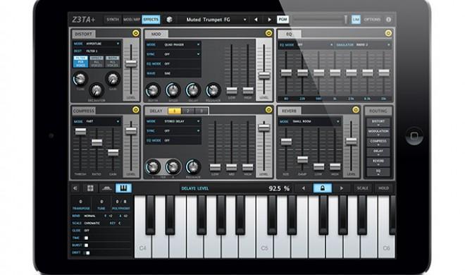 Cakewalk Z3TA+ - Synthesizer für iOS
