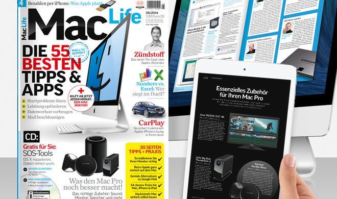 Mac Life 05/2014: Mac-Doktor, Mac Pro, CarPlay und vieles mehr