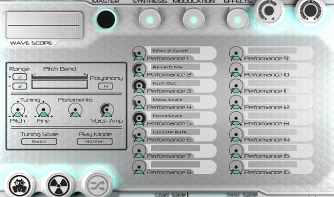 Enzyme Player - Freeware Synthesizer Plug-in