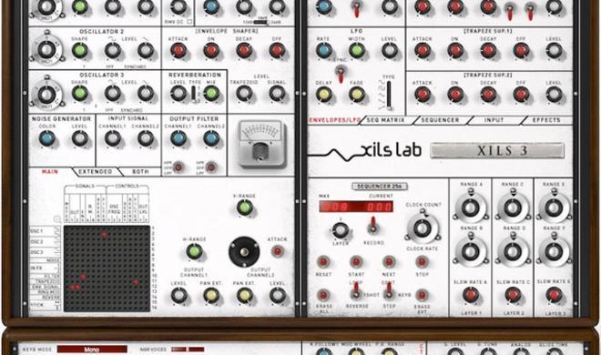 Xils 3.2 - Semi-Modularer Synth von Xils-Lab