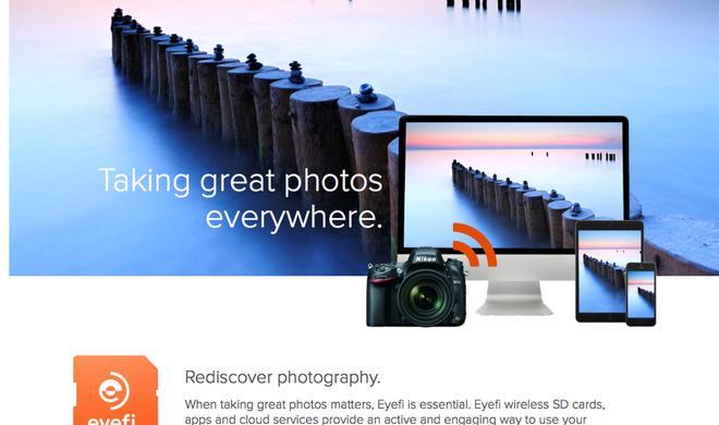 Ohne nervige Synchronisation: Eyefi macht seine SD-Karten Cloud-fähig