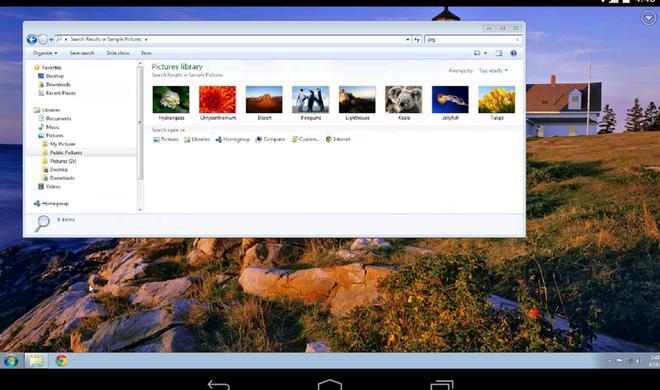 Chrome Remote Desktop bringt OS X auf Android