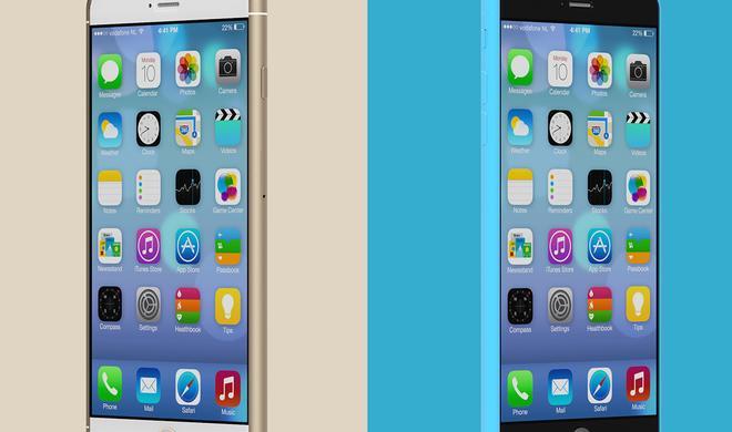 Neue Entwürfe: So schick könnten das iPhone 6s und iPhone 6c aussehen