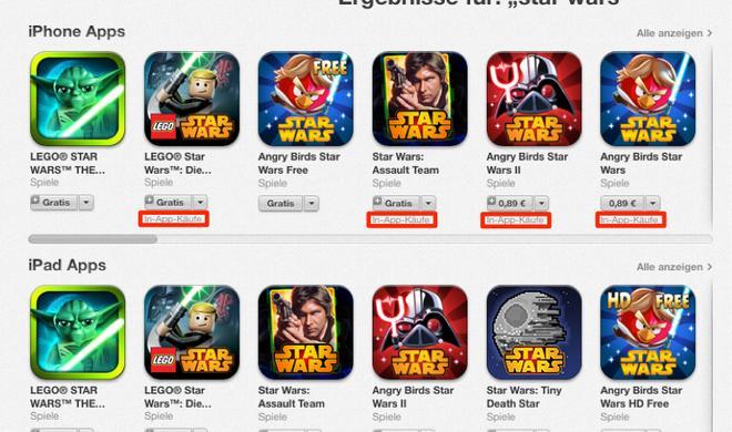 """App Store """"warnt"""" ab sofort vor In-App-Käufen"""